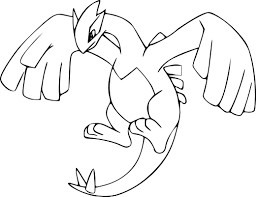 Shadow Lugia Coloring Page Beautiful Impressive Design Pages Best