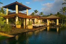 tour a tropical waterfront estate in kilauea hawaii for waterfront house plans designs