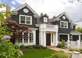 house paint ideasWhite House Paint Color With Black Houses Home Exterior Paint Ideas