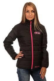 Купить <b>куртку</b> зимняя <b>женскую</b> Picture Organic Cloe <b>Puff Black</b> в ...