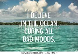 Ocean Quotes Classy Inspirational Quotes I Believe Ocean Curing Stock Photo Edit Now