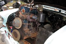 ditch the six part 1 swapping a 5 3 ls into a 1955 chevy 210 235 i 6 engine swap