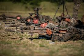 Marines Scout Sniper Requirements U S Marines With Scout Sniper Platoon Engage In Sniper Tr