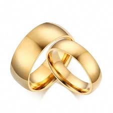Latest Couple Ring Designs Amazon Com Wedding Rings Women Men Gold Stainless Steel