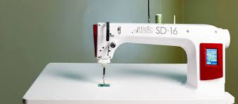 The NEW Artistic Quilter Sit Down 16 - Long-Arm Sit Down Quilter ... & The Artistic Sit Down 16 quilting machine has the perfect features to  quickly finish even your largest quilting projects. Adamdwight.com