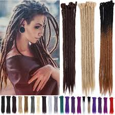 blonde synthetic dreads