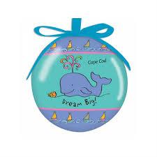 Cape Cod Whale Ornament | Cape Cod Christmas Ornament