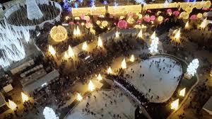 Qwest Field Christmas Lights