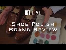 Shoe Polish Brand Review Choosing Shoe Polish Colors