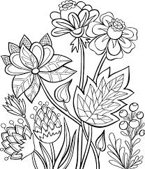 Click the flowers in vase coloring pages to view printable version or color it online (compatible with ipad and android tablets). Flowers Coloring Pages 10 Free Fun Printable Coloring Pages Of Flowers Printables 30seconds Mom
