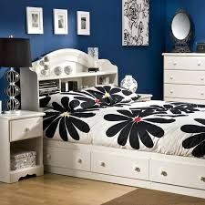 Summer Breeze Bedroom Set South Shore Summer Breeze Collection Twin Mates  Bed White Wash