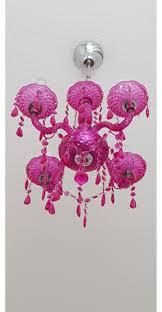 Schöne Pink Kronleuchter