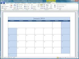 Microsoft Office 2010 Templates Office 2010 Office 2010 Calendar Templates