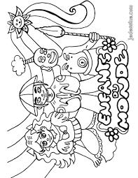 Coloriages Coloriage Des Enfants Du Monde Fr Hellokids Com
