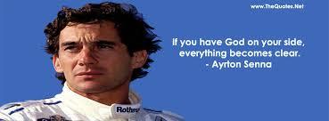 Ayrton Senna Quotes - Positive Atmosphere via Relatably.com