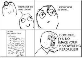 Deciphering A Doctors Handwriting Sandy The Pa