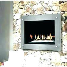 glass front electric fireplace insert stand