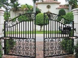 electric gate fence home security gates33