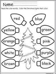 6ee9954c71043bf04a0a1b5b55b37be4 christmas colors christmas lights 25 best ideas about christmas worksheets on pinterest winter on free worksheets for kindergarten reading