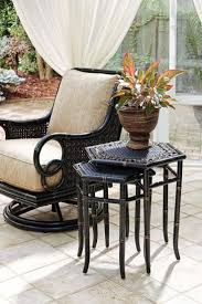 luxurypatio modern rattan tommy bahama outdoor furniture. These Tommy Bahama Marimba Nesting Tables Are A Stylish And Versatile Accent For Your Outdoor Living Space Luxurypatio Modern Rattan Furniture O