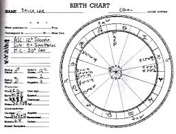 Sign Of The Little Dragon Bruce Lee Horoscope Birth