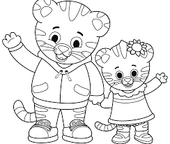 Coloring Pages Daniel Tigerng Pages Elegant Free Page Printable