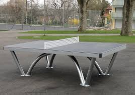 ping pong tables city parks