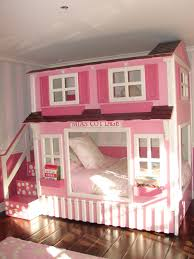 House Bunk Bed Girls Cottage Bunk Beds With Slide Lots Of Neat Built Ins For