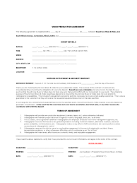 Videography Contract Template videographer contracts template Ninjaturtletechrepairsco 1