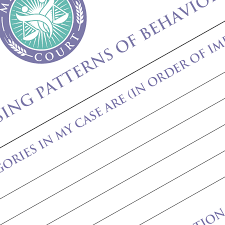 Patterns Of Behavior Interesting Patterns Of Behavior My Family Court