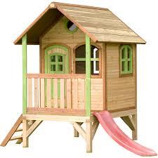 Tom Spielhaus Auf Plattform Gartenspielgerät Holz