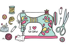 Image result for sewing machine cartoon
