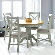 4 seater oak dining table and chairs chunky solid leather round grey furniture gorgeous scenic small