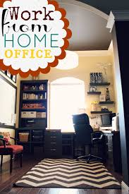 organize home office. work from home office space organize
