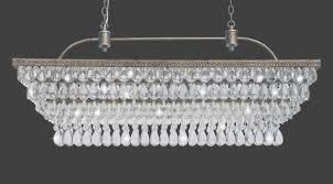 rectangular crystal chandelier with crystal rectangular chandelier view 35 of 45