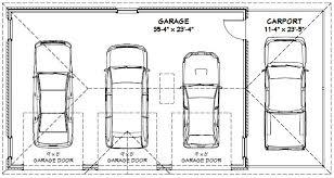 How Big Is A 2 Car Garage Door I40 All About Elegant Home Design 4 Car Garage Size