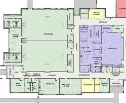 Henson Gymnasium And Cafeteria Floor Plan  Cunningham Childrenu0027s HomeCafeteria Floor Plan