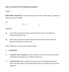 Example Join Partnership Agreement Template Printable Doc Prenuptial ...