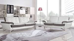 contemporary leather living room furniture. Nala Sofa And Loveseat Set Contemporary Leather Living Room Furniture H
