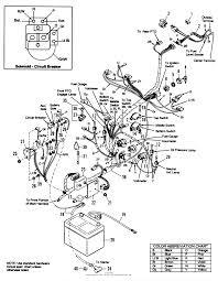Fortable garden tractor ignition wiring diagrams photos