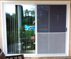 glass door protector metal screen dog proof sliding vintage wrought iron scratch