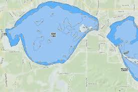 West Twin Lake Fishing Map Us_mi_60_19 Nautical Charts App