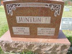 Adam Juntunen (1870-1935) - Find A Grave Memorial