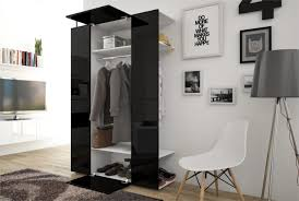 cheap hallway furniture. Hallway Furniture CUBE 4 White + Black Gloss Cheap