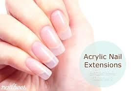 acrylic nail extensions dubai by y12