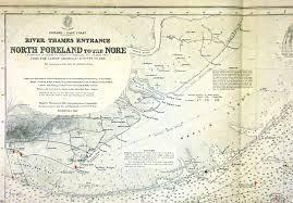 Nautical Charts New England Coast England East Coast River Thames Entrance North