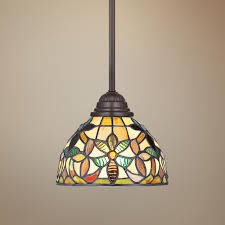 Tiffany Kitchen Lighting Quoizel Kami Tiffany Style Mini Pendant Light Pendants Products
