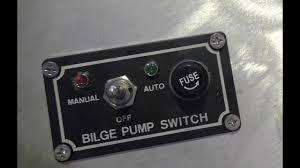 wiring a bilge pump in a boat youtube ultra bilge pump switch wiring diagram wiring a bilge pump in a boat