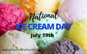 Thanks to president reagan, we celebrate national ice cream day every third sunday in july, meaning july 18 this year. National Ice Cream Day 3rd Sunday In July Special Days Of The Month