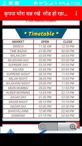 High Quality Satta King 4 Mahine Ka Chart Satta King Online